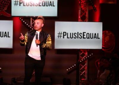 PLUS IS EQUAL
